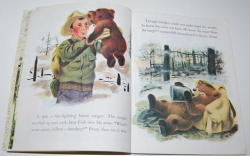 Smokey the bear little golden book 6