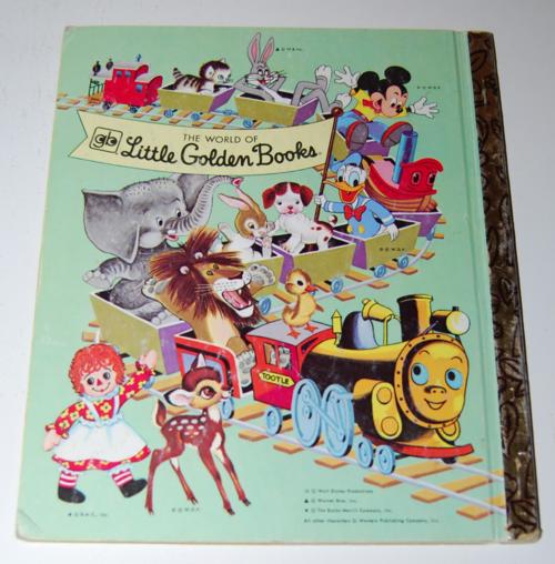Smokey the bear little golden book x
