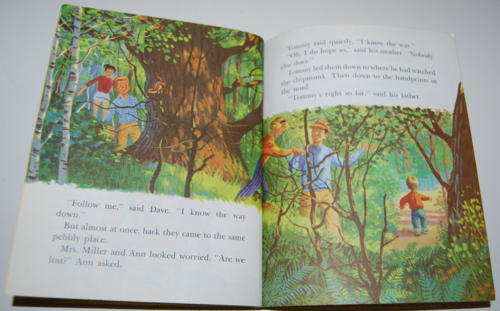 Tommy's camping adventure little golden book 5