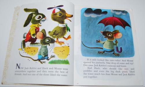 Duck & his friends little golden book 2