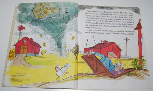 Little golden book wizard of oz 2