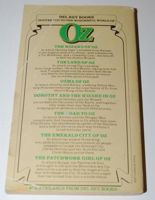 Del rey wizard of oz x