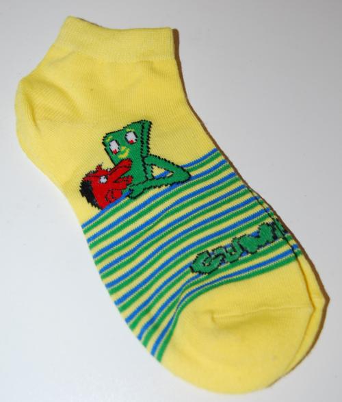 Gumby socks 1