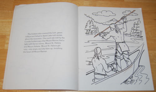 The original mt st helens coloring book 3