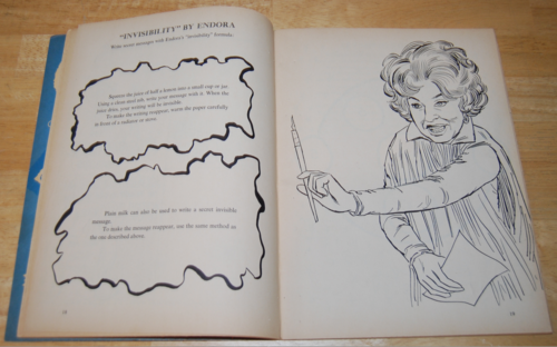 Bewitched vintage activity book 5