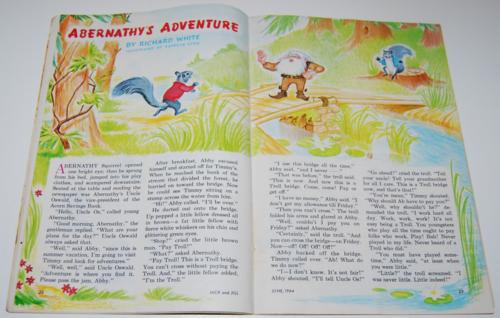 Jack & jill magazine june 1964 4