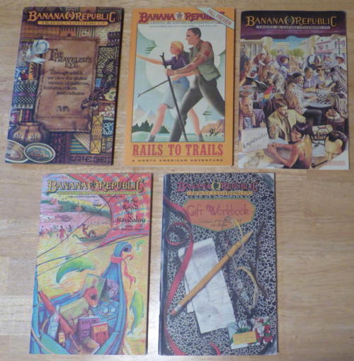 Vintage babana republic catalogs