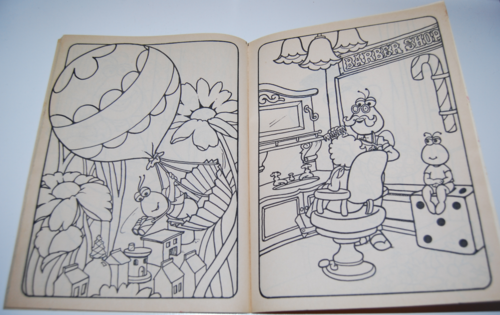 Sesame street coloring book 6