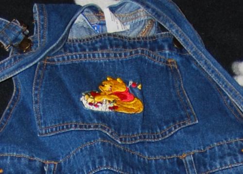 Disney overalls x
