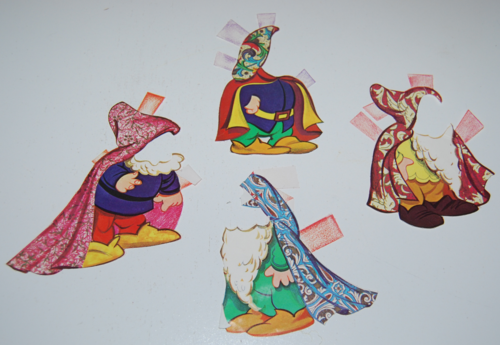 Disney snow white paper dolls 13