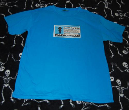 T shirts radiohead 4