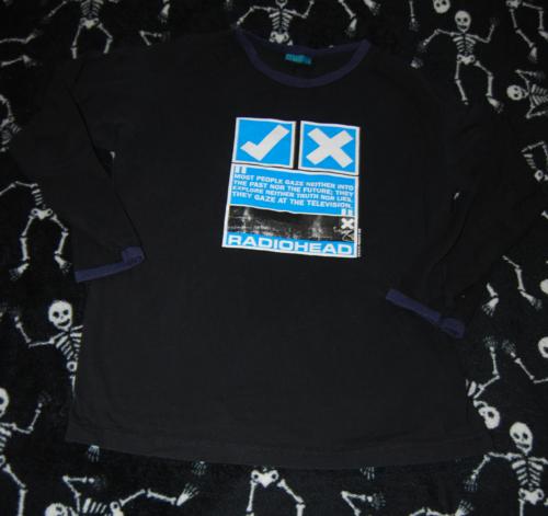 T shirts radiohead 7