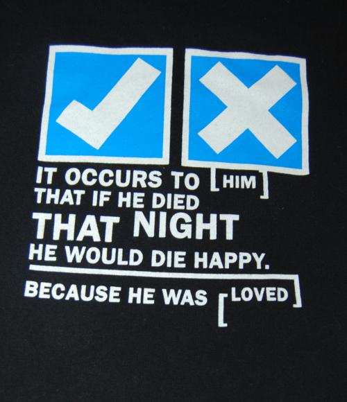 T shirts radiohead 7 x
