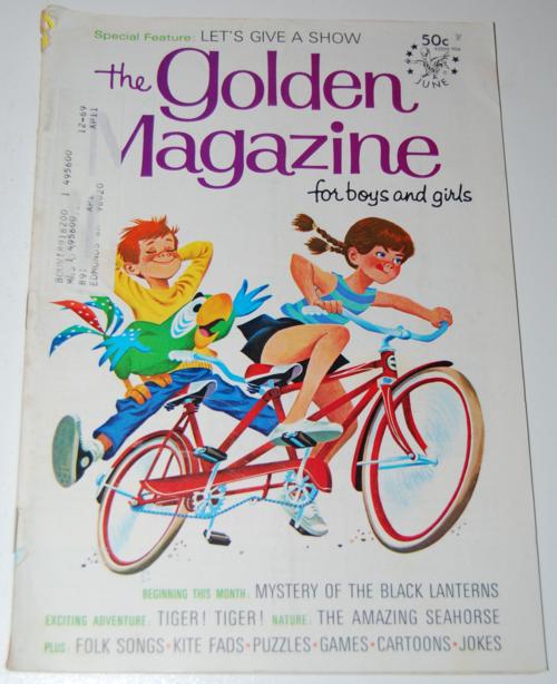 Golden magazine june 1969