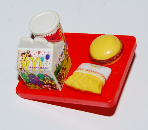 Barbie mcdonald's kid's meal 1