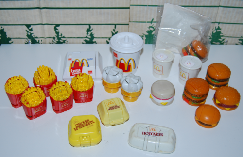 Mcdonalds changables toys