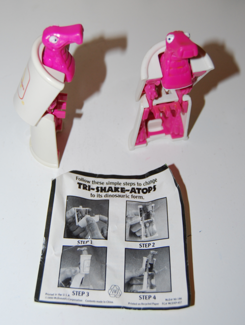Mcdonalds dino toys 1