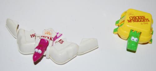 Mcdonalds dino toys 2