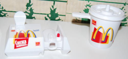 Mcdonalds changables toys 1