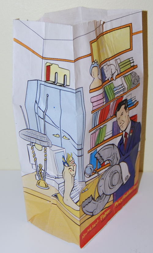 Mcd inspector gadget kids meal bag 3