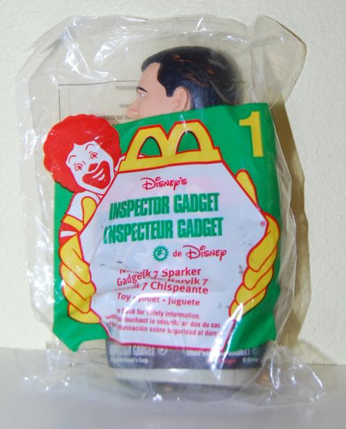 Mcd inspector gadget toy