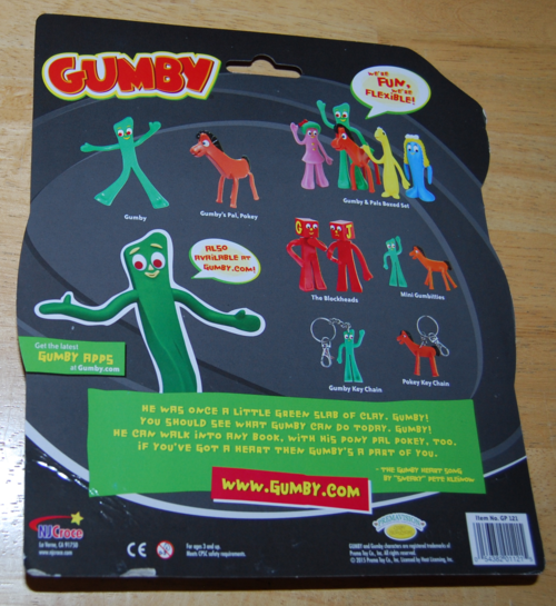 Gumby & pokey disguise toys 1