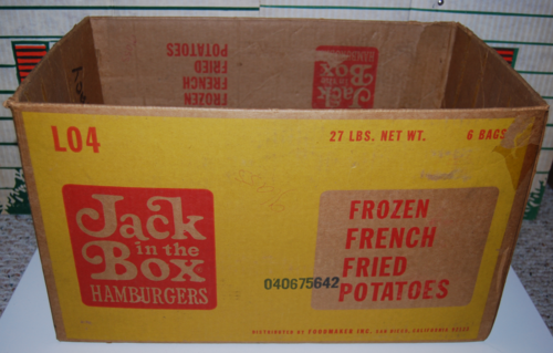 Jack in the box vintage box