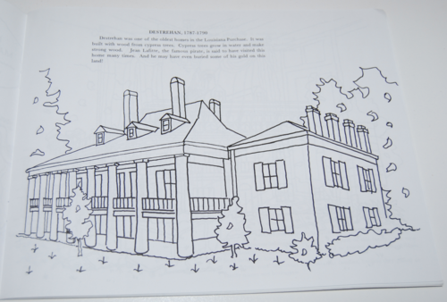 Coloring Pages Xbox 360 : Louisiana plantation coloring book lost & found vintage toys