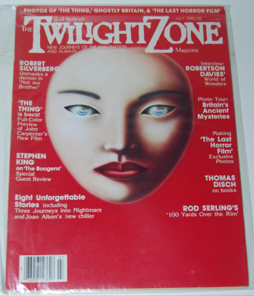 Twilight zone magazine 1982 1