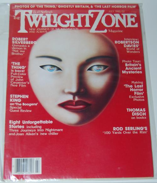 Twilight zone magazine 1982 1