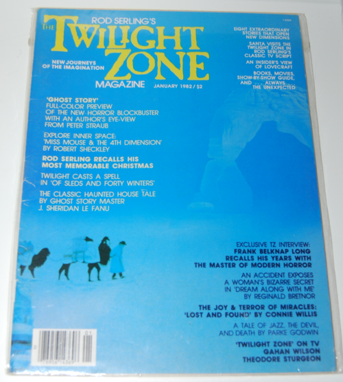 Twilight zone magazine 1982 3