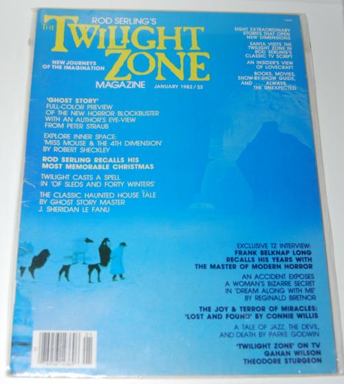 Twilight zone magazine 1982 3