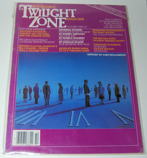 Twilight zone magazine 1982 4