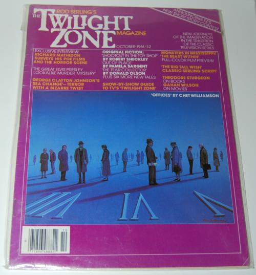 Twilight zone magazine 1982 4