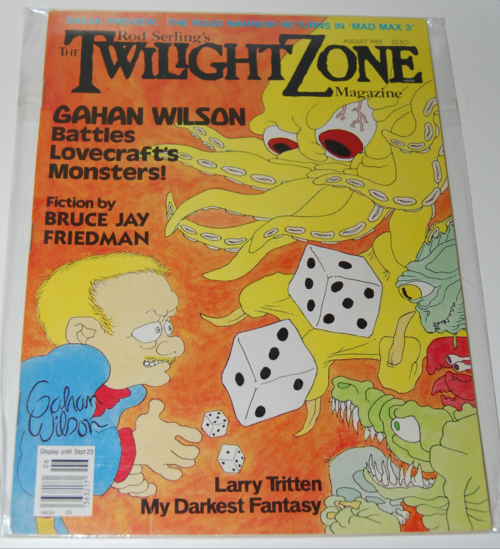 Twilight zone magazine 1982 9