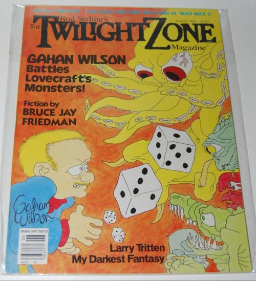 Twilight zone magazine 1982 9