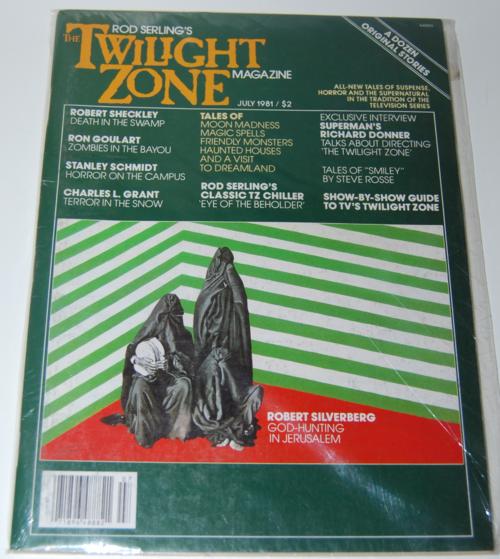 Twilight zone magazine 1982 11