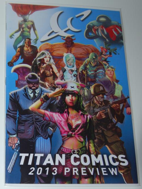 Titan comics 2013