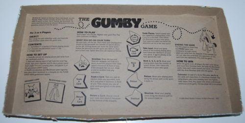 The gumby game milton bradley 6