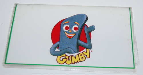 Gumby checkbook cover x