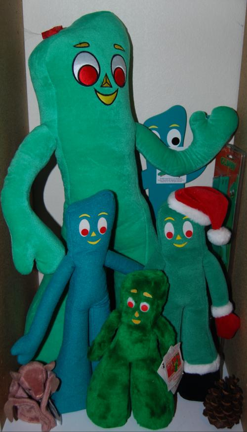 Gumby plush toys