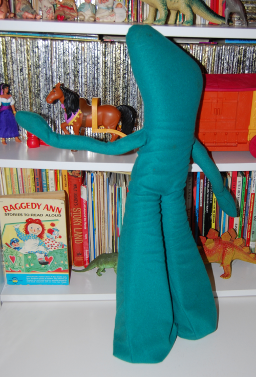 Gumby plush vintage 2