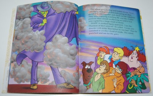 Scooby doo the haunted carnival book 4