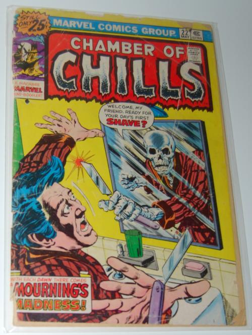Chamber of chills comic