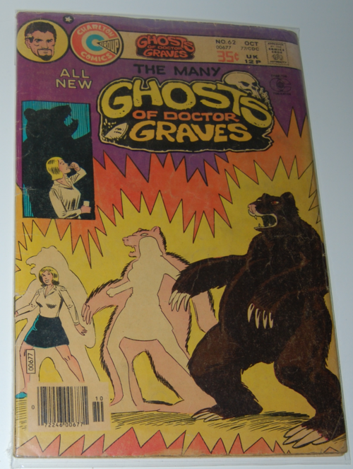 Ghosts of dr graves comic