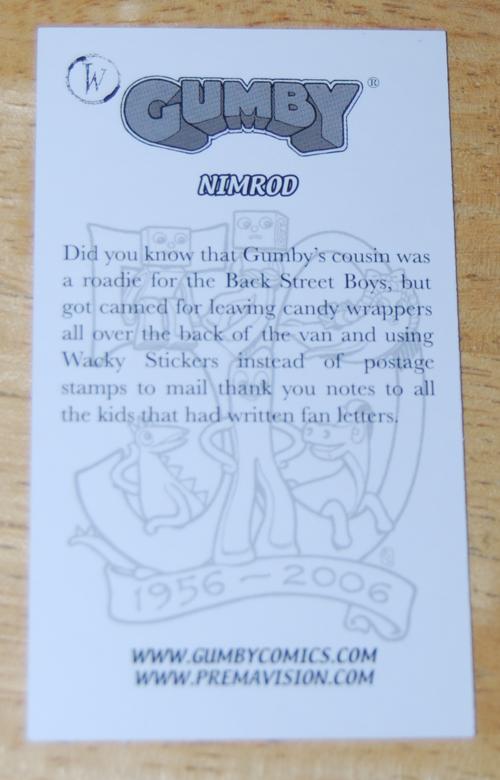 Comiccon card nimrod x