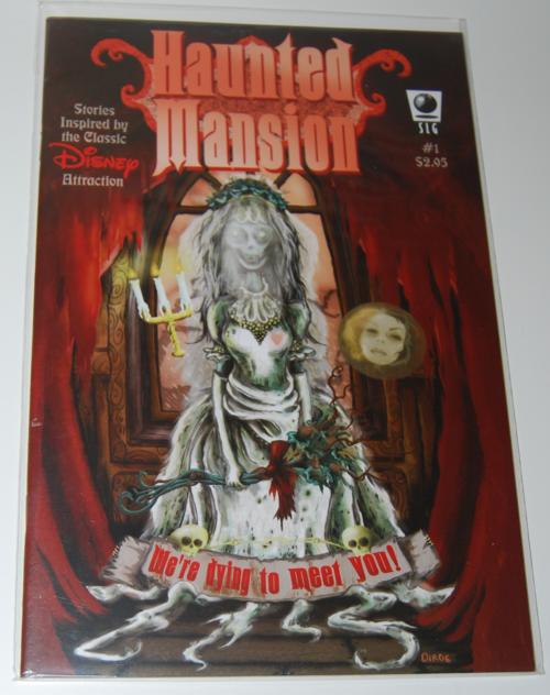 Haunted mansion comic 1