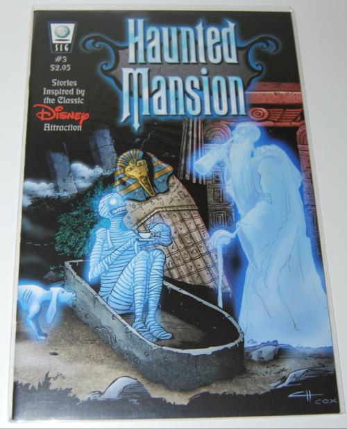 Haunted mansion comic 3