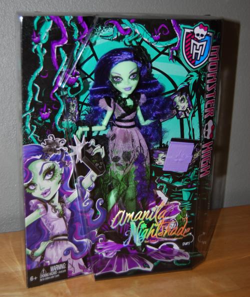 Monster high amanita nightshade doll 1