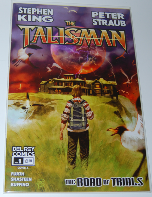 Stephen king comic the talisman 1